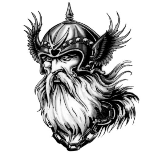 Wzór Tatuażu Wiking Monika Wypożyczalnia Sprzętu